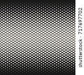 vector halftone geometric... | Shutterstock .eps vector #717697702