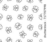 seamless pattern with...   Shutterstock . vector #717707998