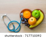 cholesterol diet and healthy...   Shutterstock . vector #717710392