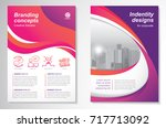 template vector design for... | Shutterstock .eps vector #717713092