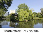 Image Of Shobu Pond Amid Rich...