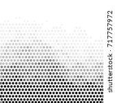 abstract grunge grid polka dot... | Shutterstock .eps vector #717757972