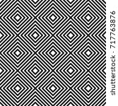 geometric seamless pattern in... | Shutterstock .eps vector #717763876