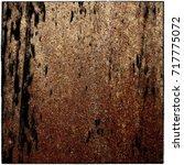 grunge texture of rusty metal | Shutterstock . vector #717775072