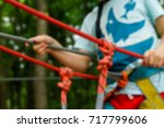 active children's recreation.... | Shutterstock . vector #717799606