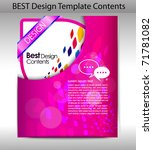 folder design content... | Shutterstock .eps vector #71781082