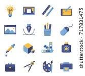 graphic design icons   symbols. ... | Shutterstock . vector #717831475