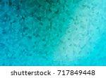 light blue vector pattern with... | Shutterstock .eps vector #717849448