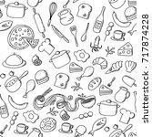 seamless pattern background... | Shutterstock .eps vector #717874228