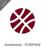 baseball icon   Shutterstock .eps vector #717897442
