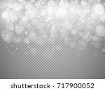 bokeh lights with glowing... | Shutterstock .eps vector #717900052