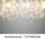 golden bokeh lights with