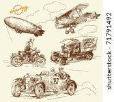 Old Times Vehicles Handmade...