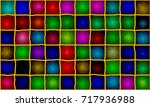 stained glass composition of... | Shutterstock .eps vector #717936988