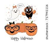 hand drawn vector illustration... | Shutterstock .eps vector #717941116