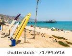 malibu  california. 13 th...   Shutterstock . vector #717945916