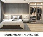3d rendering luxury modern... | Shutterstock . vector #717952486