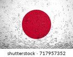 flag of japan | Shutterstock . vector #717957352
