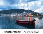 cadaques sunset. romanticism in ...   Shutterstock . vector #717979462