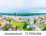 aerial view of riga from top of ... | Shutterstock . vector #717996286