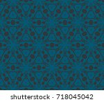 seamless modern vector...   Shutterstock .eps vector #718045042