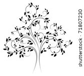 vector tree 4 | Shutterstock .eps vector #71807230