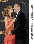 Small photo of LOS ANGELES - SEP 17: Hilarie Burton, Jeffrey Dean Morgan at the 69th Primetime Emmy Awards - Arrivals at the Microsoft Theater on September 17, 2017 in Los Angeles, CA
