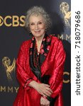 Small photo of LOS ANGELES - SEP 17: Margaret Atwood at the 69th Primetime Emmy Awards - Arrivals at the Microsoft Theater on September 17, 2017 in Los Angeles, CA