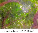 green leaves concept   abstract ...   Shutterstock . vector #718103962