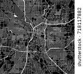 san antonio  texas. downtown... | Shutterstock .eps vector #718117882