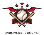 baseball team logo | Shutterstock .eps vector #71812747