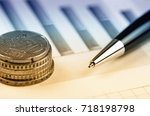 business accounting  | Shutterstock . vector #718198798
