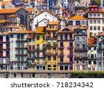 porto  portugal  on june 17 ... | Shutterstock . vector #718234342