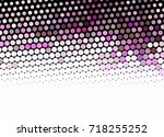 abstract halftone background.... | Shutterstock . vector #718255252