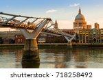 Millennium Bridge and St. Paul