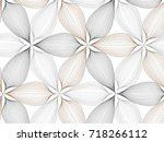 black line graphic pattern... | Shutterstock .eps vector #718266112