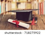 concept of education. | Shutterstock . vector #718275922