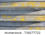 abstract view of wooden plank...   Shutterstock . vector #718277722