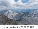 the mountains of alps in tyrol  ... | Shutterstock . vector #718279408
