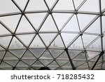 moscow  park zaryadye  17... | Shutterstock . vector #718285432