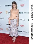 Small photo of LOS ANGELES - SEP 16: Natalia Dyer arrives for the BAFTA TV Tea Party 2017 on September 16, 2017 in West Hollywood, CA