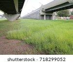 road overpass | Shutterstock . vector #718299052