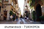 milan  italy   september 12 ... | Shutterstock . vector #718343926