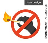 stop fire icon