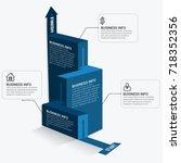 infographic elements template   Shutterstock .eps vector #718352356