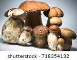 fresh healthy happy family of... | Shutterstock . vector #718354132