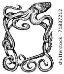 giant octopus | Shutterstock .eps vector #71837212