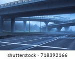 the mainline in the early... | Shutterstock . vector #718392166