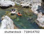 april 17  2015 la ceiba ... | Shutterstock . vector #718414702