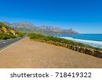 cape town  clarence drive  ... | Shutterstock . vector #718419322